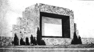 Front of Drive In