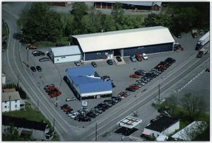 Aerial picture of Hulsizer's
